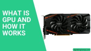 what is GPU and how it works